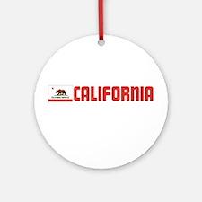 California Ornament (Round)