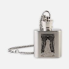 Unique The hamptons Flask Necklace