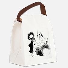 Strange Canvas Lunch Bag