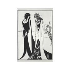 Aubrey beardsley Rectangle Magnet