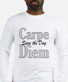 Funny Carpe Long Sleeve T-Shirt
