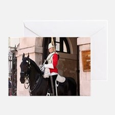 Royal Household Cavalry Guard Greeting Card