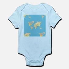 world map Body Suit