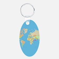 world map Keychains