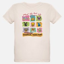 Unique Animal shelter T-Shirt