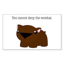 Wombat Decal