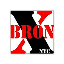 "Cute Bronx new york Square Sticker 3"" x 3"""