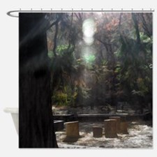 The Meetingplace Shower Curtain