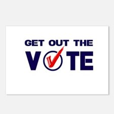 GET OUT THE VOTE Postcards (Package of 8)