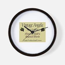 Vintage Angela Wall Clock