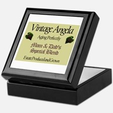 Vintage Angela Keepsake Box