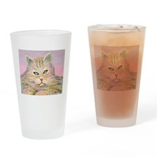 Missy the Cat Drinking Glass