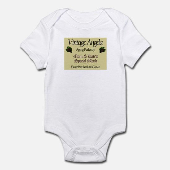 Vintage Angela Infant Bodysuit