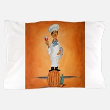 """Singing Chef """"Guido Bessa Pucci"""" Pillow Case"""