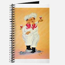 Singing Chefs Cheek To Cheek Journal