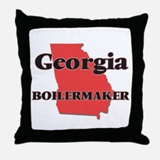 Georgia Boilermaker Throw Pillow