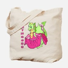 Princess Dragon Tote Bag