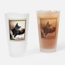 I Chews You! Drinking Glass
