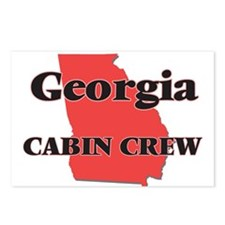 Georgia Cabin Crew Postcards (Package of 8)