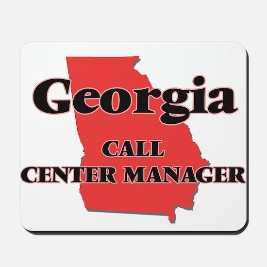 Georgia Call Center Manager Mousepad
