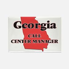 Georgia Call Center Manager Magnets