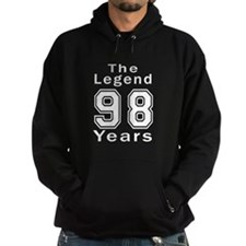 98 Legend Birthday Designs Hoodie