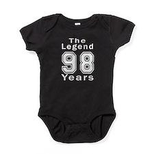 98 Legend Birthday Designs Baby Bodysuit