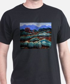 Chamisas, Organ Mountains, las Cruces, NM T-Shirt