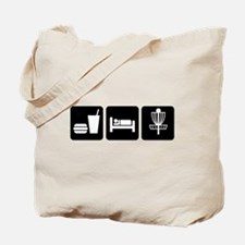 Eat, Sleep, Disc Golf Tote Bag