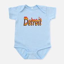 Detroit Flame Body Suit