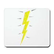 Lightning Bolt (Vintage) Mousepad