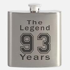 93 Legend Birthday Designs Flask