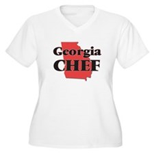 Georgia Chef Plus Size T-Shirt