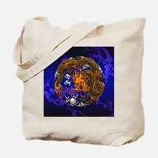 Harvest Moons Chinese Dragon Tote Bag