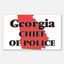 Georgia Chief Of Police Decal