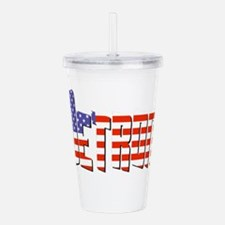 Patriotic Detroit Acrylic Double-wall Tumbler