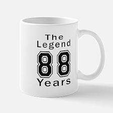 88 Legend Birthday Designs Mug