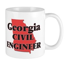 Georgia Civil Engineer Mugs