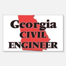 Georgia Civil Engineer Decal