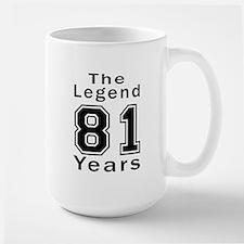 81 Legend Birthday Designs Mug
