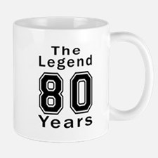 80 Legend Birthday Designs Mug