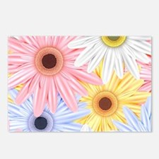 Cute Flowers Postcards (Package of 8)