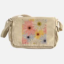 Cute Flowers Messenger Bag