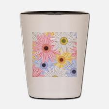 Cute Flowers Shot Glass