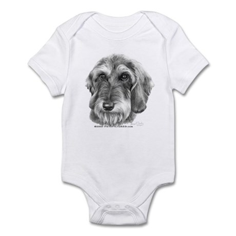 Wire-Haired Dachshund Infant Bodysuit