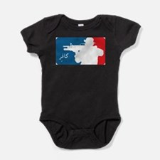 Unique Afghanistan war Baby Bodysuit