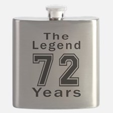 72 Legend Birthday Designs Flask