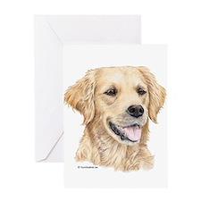 Cute Labrador retriever art Greeting Card