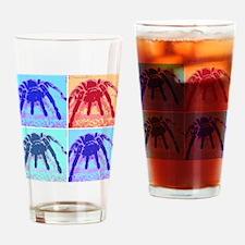 Rosehair Pop Art Drinking Glass
