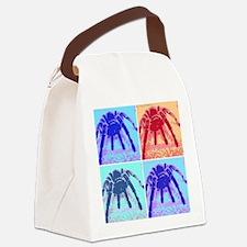 Rosehair Pop Art Canvas Lunch Bag